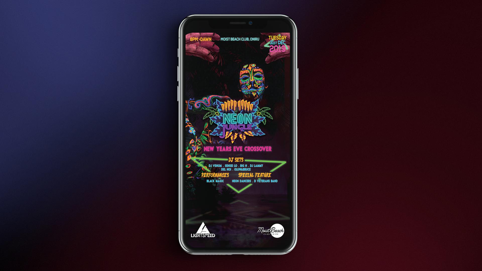 Neon_Jungle_2019_Poster_Design_Motion_Design_BlackBelt